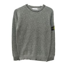 STONE iSLAND - Sweat noir chiné