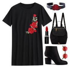 """""""Untitled #3224"""" by deeyanago ❤ liked on Polyvore featuring Alexander Wang, Marc Jacobs and Smashbox"""