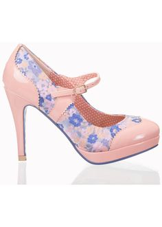 Banned Mary Jane Pumps Oriental Blush