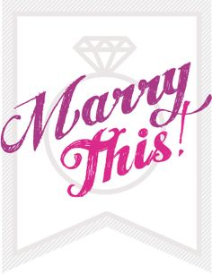 MarryThis! is full of creative wedding ideas, DIYs, and advice.