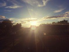 Sunset in Verner, ON