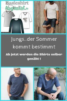 Das Basicshirt ist ein weiterer Basicschnitt, der deiner Kreativität keine Grenzen setzt. Der Schnitt enthält drei verschiedene Armvarianten und zwei unterschiedliche Halsabschlüsse (Rundhals- und V-Ausschnitt). Wähle zwischen taillierter oder gerader Form. Jetzt bei www.abgenäht.de. P.S.: Die passenden Stoffe findet Ihr auch bei uns. #nähen #diy #shirt
