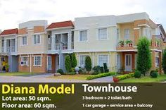 Image result for lancaster states cavite Model House, Lancaster, Townhouse, Diana, Mansions, House Styles, Image, Home Decor, Decoration Home