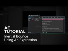 Inertial Bounce Expression - After Effects Tutorial - YouTube