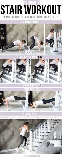 -stair workout