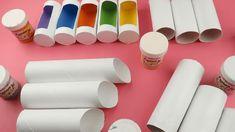 captura-de-pantalla-2016-10-05-a-las-0-55-35 Toilet Paper Crafts, Cardboard Crafts, Fun Crafts For Kids, Diy And Crafts, Diy Craft Projects, Projects To Try, Diy Pencil Case, Rolled Paper Art, Cardboard Furniture