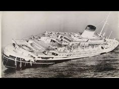 July 25 – 72 kilometers mi) south of Nantucket Island, the Italian ocean liner SS Andrea Doria sinks after colliding with the Swedish ship SS Stockholm in heavy fog, killing