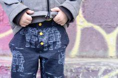 """Pantalon """"Levin"""" d'après le magazine La Maison Victor #LMV #Lillestoff #couturepourgarçons"""