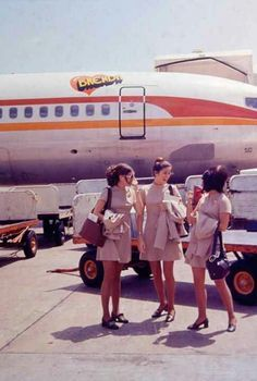 National Airlines on Pinterest | Boeing 727, Flight Attendant and ...