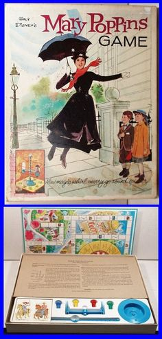 1964 Disney's Mary Poppins Game~ I wish I still had mine.  The simple things in life back then....
