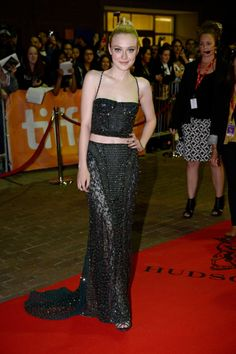 See All the Stars at the Toronto International Film Festival!: Marion Cotillard stepped out for the Blood Ties premiere. : Dakota Fanning showed off her midriff on the red carpet at the Night Moves premiere.