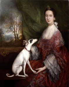 Portrait of Elizabeth Jackson, Mrs. Morton Pleydell by Thomas Gainsborough  ca. 1760