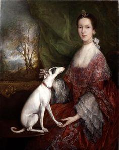 Retrato de Elizabeth Jackson, la señora Morton Pleydell Thomas Gainsborough ca.  1760