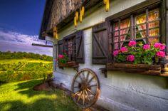 Rural idyll by Boris Frkovic, via 500px