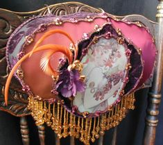 Vintage Victorian Bed Lamp