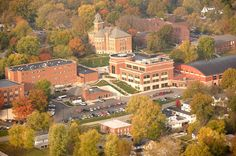 Campus from the air