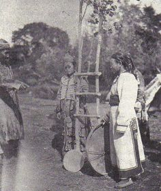 turge shaman and assistants