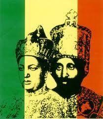 King and Queen of Ethiopia Queen Menen Asfaw and King Haile Selassie. Is not he wearing a Moorish fez (elongated). Yes, Ethiopia is of Moorish heritage. Jamaica People, History Of Ethiopia, Rastafarian Culture, Reggae Art, Bob Marley Art, Jah Rastafari, Full Sleeve Tattoo Design, Haile Selassie, Lion Of Judah