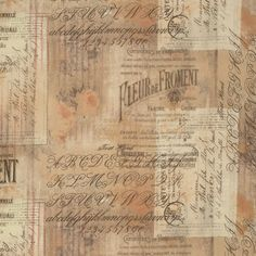 Wallflowers  Shabby Script  Tim Holtz  Roses Post by FabricSweets