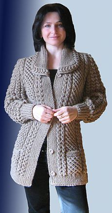 classic knit kit by designerhanne falkenberg of denmark sizes s ml xl full width 111 122 132 cm total length 82 86 90 cm sleeves from shoulder 50 52 54 cm pattern includes all three sizes s ml xl - PIPicStats Ladies Cardigan Knitting Patterns, Aran Knitting Patterns, Knit Cardigan Pattern, Knitting Blogs, Knitting Kits, Jacket Pattern, Crochet Cardigan, Knitting Designs, Knit Crochet
