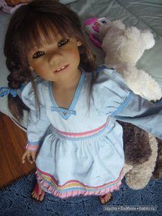 My Himochki- lyubimochki. Liska, Tetti, Tivi, Margeli, Hugo / Collectible Doll Annette Himstedt / Beybiki. Photo Dolls. Clothes for dolls