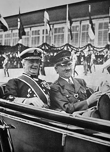 Hungarian leader Miklós Horthy and German leader Adolf Hitler in 1938 Secret Deals, Life Under The Sea, George Soros, The Third Reich, Winston Churchill, Berlin Germany, Coventry, World War Ii, Ww2