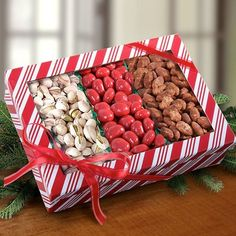Santa's Favorite Nuts and Sweets