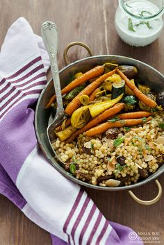 Turmeric Slow Roasted Veggies Couscous Pilaf 0050 by Meeta Wolff @ What's For Lunch, Honey?, via Flickr