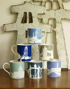 River Series mugs by @Snowdenflood
