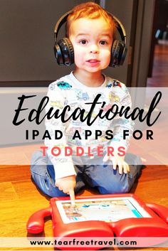 Wondering what are the best iPad apps for toddlers? These apps got me through a long flight with a Fun and educational, these are the top toddler apps that my little guy loves. Click through to find out more! Educational Apps For Toddlers, Kids Learning Apps, Toddler Learning, Toddler Activities, Toddler Apps, Toddler Travel, Parenting Toddlers, Parenting Hacks, Foster Parenting