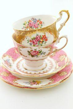 Vintage teacups | Flickr - Photo Sharing!