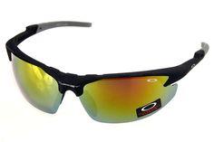 Oakley Commit Sunglasses Black Frame Gold Lens