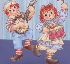 Raggedy Ann - Raggedy Ann and Andy Photo - Fanpop Baby Animal Drawings, Cartoon Drawings, Fabric Dolls, Rag Dolls, Ann Doll, Raggedy Ann And Andy, Vintage Paper Dolls, Crochet Home, Cute Art