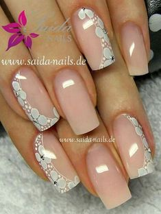 Image IMG 6744 in Beautiful nails album Fabulous Nails, Perfect Nails, Gorgeous Nails, Pretty Nails, Lace Nails, Flower Nails, Hot Nails, Pink Nails, Pretty Nail Designs