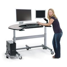 Anthro Elevate Wrap Electric Sit Stand Desk