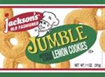 "Do you remember Jackson's Old Fashioned ""Jumbo"" Jumble Lemon Cookies??"