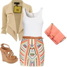 Cute summer night outfit with the girls! <3