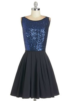 Sparkle! Who Glows There? Dress. Admiring your glowing reflection in the mirror, you feel positively regal in this dazzling dress!  #modcloth