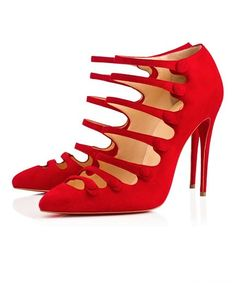 Christian Louboutin 'Hot Chick' Black Pumps spring 2016 Collection #CL #Louboutins #Shoes Louboutin High Heels, Red Louboutin, Pumps Heels, Shoes Sandals, Stiletto Heels, Louboutin Online, Strappy Shoes, Sexy Heels, Stilettos