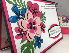 Sommerplätzchen eimear carvill stincolour com stin up botanicals gift bag