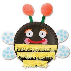 Paper Plate Bugs....fun DIY spring time activity for kids!