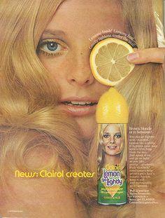 Clairol Lemon Go Lightly - 1970   Flickr - Photo Sharing!