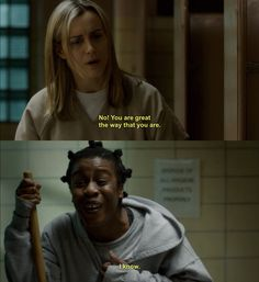 """When Suzanne captures your response to patronizing white women everywhere: 