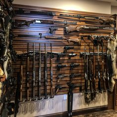 Hold Up Displays gun walls are fully modular, allowing your gun storage to grow as your firearm collection does. Purchase a gun wall bundle or customize your setup by buying individual strongwall panels, rifle racks, handgun racks and more. Weapon Storage, Gun Storage, Weapons Guns, Guns And Ammo, Tactical Wall, Tactical Gear, Gun Safe Room, Hidden Gun Cabinets, Rifle Rack