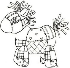 Beccy's Place: Quilted Horse