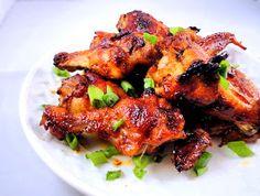 La Petite Brioche: Sriracha Glazed Wings