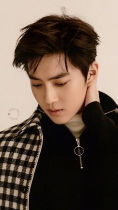 161219 Postcard Of #Suho For The Album « For Life »