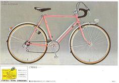 The catalogs of Japanese vintage bicycle Bridgestone Eurasia