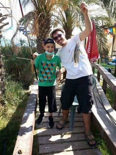 Uri just finished a grueling hospital stay. Ezer Mizion thought he deserved a medal and decided to give one to him in the form of a fishing trip. How do you like his catch? Bone Marrow, Cancer Support, Fishing, Peaches, Pisces, Gone Fishing