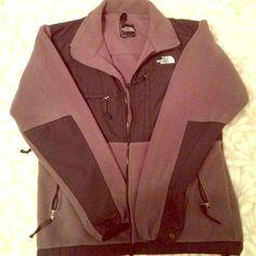Grey & Black North Face Grey/ Black North Face, Women's medium fits like a large! North Face Jackets & Coats Utility Jackets